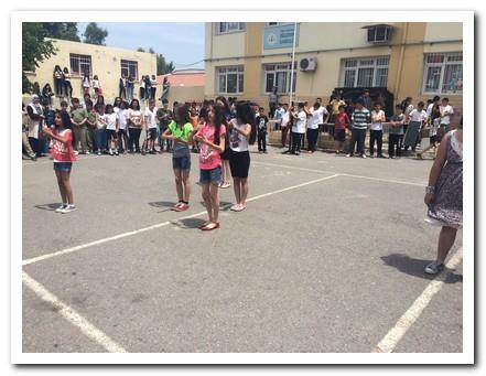 6/A sınıfının hazırladığı modern dans gösterisi