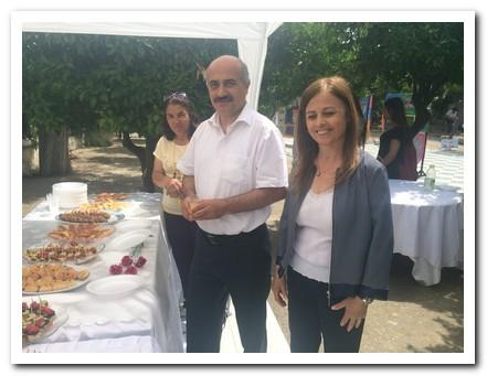 Narlıdere Kaymakamımız Osman Aslan CANBABA ve Okul Müdürümüz Süheyla TOSUN